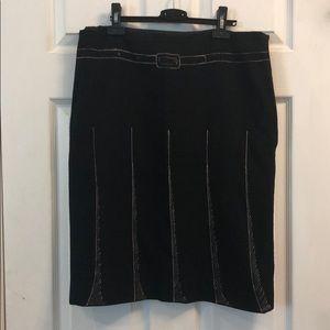 Moschino sketch pencil skirt